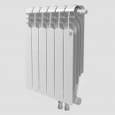 Биметаллический радиатор с нижним правым подключением Vittoria Super 500 VD - 8 секций