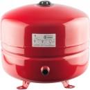 Расширительный бак на отопление 35 л. (цвет красный)