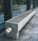 Напольный конвектор Varmann MiniKon Комфорт KFV 135.130.2100, напольный монтаж на готовый пол со встроенным термоклапаном