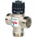 Термостатический смесительный клапан для систем отопления и ГВС. G 1)4 НР 20-43°С KV 2,5