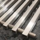 Решетка для внутрипольного конвектора MINIB алюминий Т80, L=900 рулонная