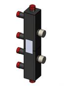 Каскадный узел вертикальный, до 3 котлов / GR 493200 5001