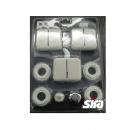 """Монтажный комплект для Sira KIT RS 1/2"""" универсальный, белый для Sira RS TWIN"""