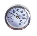 Термометр Hansa ø34x10 мм 0-80 °С для гильзы ½