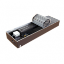 """Медно-алюминиевый конвектор ISOTERM """"Golfstrеam-V"""" КВК 27.11.100 для встраивания в пол с принудительной конвекцией, алюминиевая решетка"""