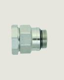 """Зажимное винтовое соединение Hansa 1½"""" (2"""") AG x 40 V2A 1½"""" xKLV 40"""