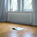 Радиатор Zehnder Charleston Turned 3150 / 8 секций, нижнее подключение