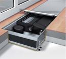 Конвектор встраиваемый в пол с вентилятором Мohlenhoff QSK EC HK 2L 360-140-2150