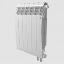 Биметаллический радиатор с правым нижним подключением Royal Thermo Biliner 500 V Bianco Traffico (белый)- 12 секций