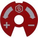 Синий-красный диск для распределительных коллекторов