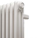 Радиаторы стальной трубчатый IRSAP HD (с антикоррозийным покрытием) RT30565--18 подключение 25 (нижнее подключение со встроенным термоклапаном сверху №25), высота 565 мм, межосевое расстояние 50 мм, 18 секций