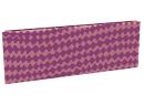 Дизайн-радиатор Lully коллекция Мираж 1120/450/115 (цвет фиолетовый) боковое подключение с термостатикой