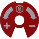 Синий-красный диск для коллекторов распределительных SMB 6851 и SMB 6852 STOUT