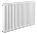 Стальной панельный радиатор Heaton VC22 500x500 (нижнее подключение), (с кроншт встр. вентилем Heaton)