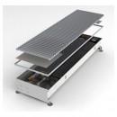 Конвектор встраиваемый в пол с вентилятором (универсальный) MINIB COIL-МТ-1250 (без решетки)
