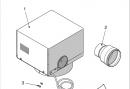 Комплект дымососа ST 35-38 20049840