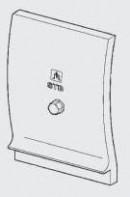 Дополнительный модуль ZM426 черный 8718589891