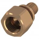 Соединение Tece прямое с внутренней резьбой, 63 х 2' , бронза