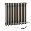 Радиатор Zehnder Charleston 3057 / 6 секций, нижнее подключение со встроенным термовентилем, цвет 0325 TL (TechnoLine)