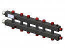 Гидравлический коллектор горизонтальный, 7 контуров, до 70кВт