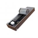 """Медно-алюминиевый конвектор ISOTERM """"Golfstrеam-V"""" КВК 24.08.180 для встраивания в пол с принудительной конвекцией, алюминиевая решетка"""