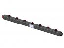 Гидравлический коллектор вертикальный, 7 контуров