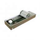 """Медно-алюминиевые конвекторы ISOTERM """"Golfstream 12V"""" КВК 12- 27.11.150 для встраивания в пол с принудительной конвекцией, алюминиевая решетка"""