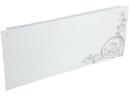 Дизайн-радиатор Lully коллекция Росток 1120/450/115 (цвет серый) боковое подключение