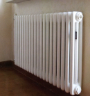 Стальные трубчатые радиаторы ARBONIA, модель 3057, 584 Вт, глубина 105 мм, белый цвет, 8 секций
