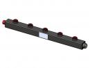 Гидравлический коллектор вертикальный, 5 контуров