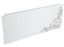 Дизайн-радиатор Lully коллекция Росток 1120/450/115 (цвет серебряный) боковое подключение