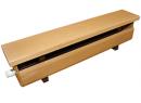 Стальной трубчатый радиатор-скамейка Завалинка Элегант 1500
