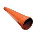 Труба канализационная Ostendorf KGEM однораструбная D-125х1000, арт. 221010