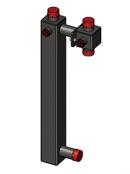 Корпус насосного модуля 25-40 (для смесителя + насос 180)/GR 499200 0003