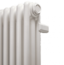 Радиаторы стальной трубчатый IRSAP HD (с антикоррозийным покрытием) RT30565--8 подключение 25 (нижнее подключение со встроенным термоклапаном сверху №25), высота 565 мм, межосевое расстояние 50 мм, 8 секций