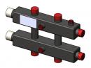 Гидравлический коллектор горизонтальный, 3 контура, до 70кВт