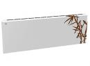 Дизайн-радиатор Lully коллекция Бамбук 1120/450/115 (цвет коричневый) подключение в стену