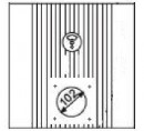 Дверца для пеллетной горелки ECO LOGIK 5.5