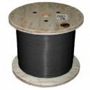 Кабель нагревательный одножильный отрезной Nexans TXLP 5.35 Ohm/m Black (DRUM)
