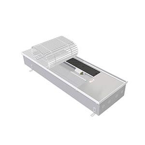 Внутрипольный конвектор с вентилятором EVA COIL - КХ - 2500, теплоотдача 5811 - 7259 Вт.