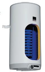 Бойлер вертикальный навесной комбинированный Drazice OKC 100 л.