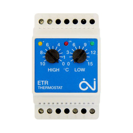 Терморегулятор с датчиком внешней t°OJ Electronics ETR/F 1447A