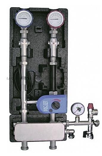 Разделительный теплообменник Hansa ST-15 для насосных групп UK/MK 125mm с группой безопасности 15кВт