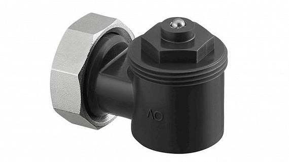 Адаптер угловой Oventrop антрацит (RAL 7016)