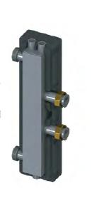 Гидравлическая стрелка, DN-25, 3.5 м3/ч, 82 кВт