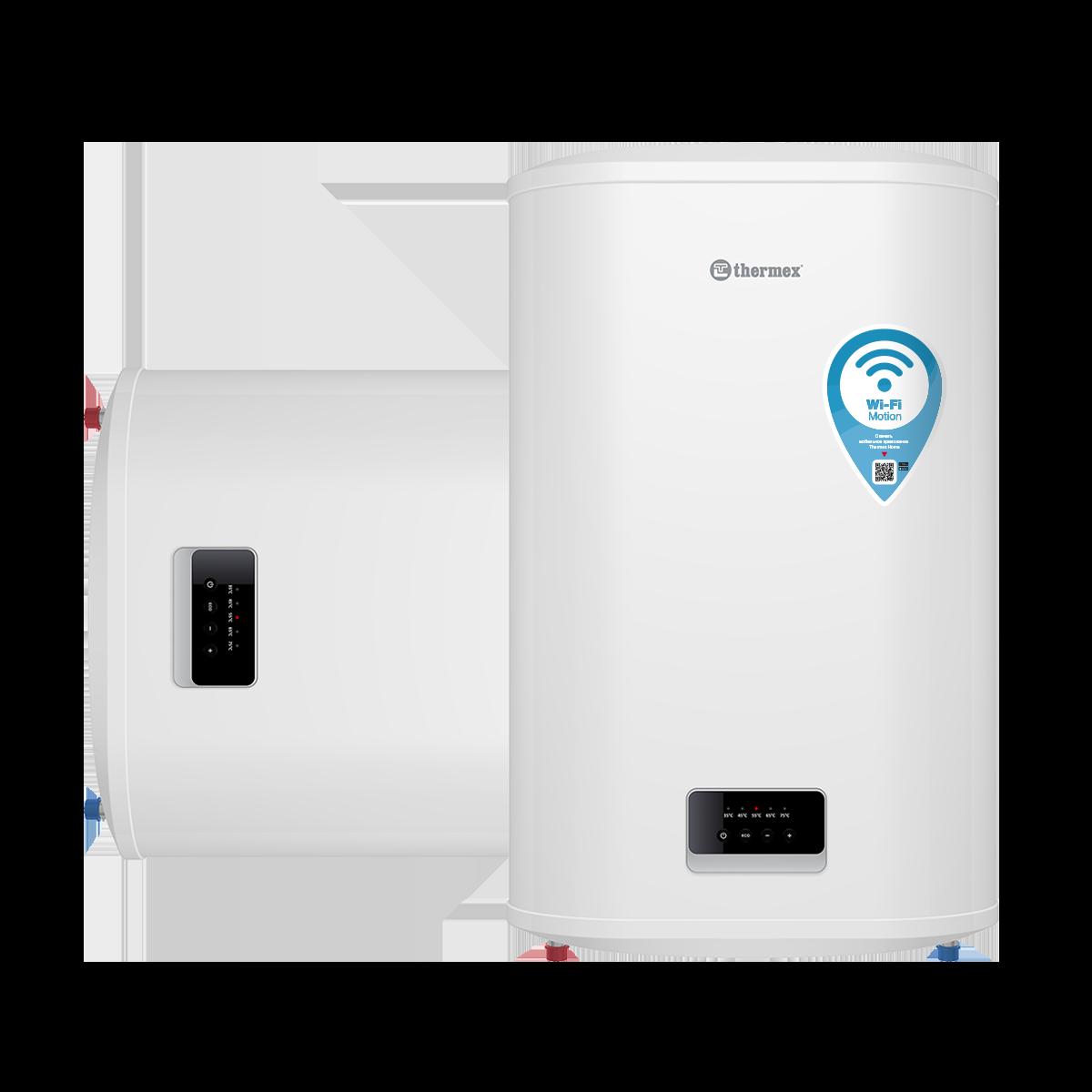 Электрический водонагреватель THERMEX Optima 80 Wi-Fi