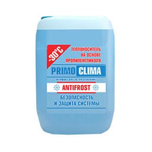 Теплоноситель Primoclima Antifrost (Пропиленгликоль) -30C 20 кг канистра (цвет синий)