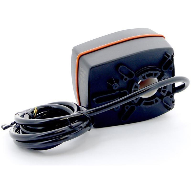 Сервопривод-контроллер, 220 В, 6 Нм, 120 сек, с накладным датчиком температуры для поддержания постоянной температуры подающей линии