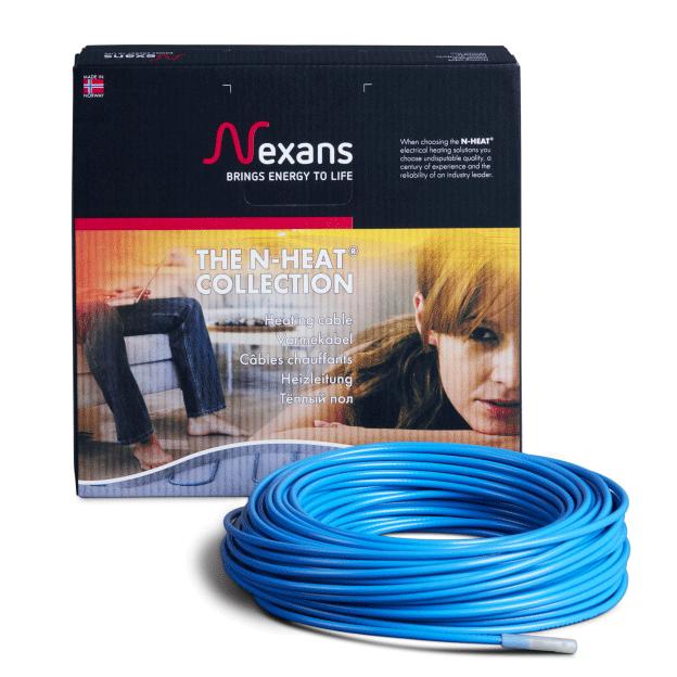 Двухжильный нагревательный кабель NEXANS TXLP/2R 2100-17