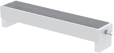 Конвектор напольного и настенного монтажа Varmann MiniKon 330 x 135 x 2100